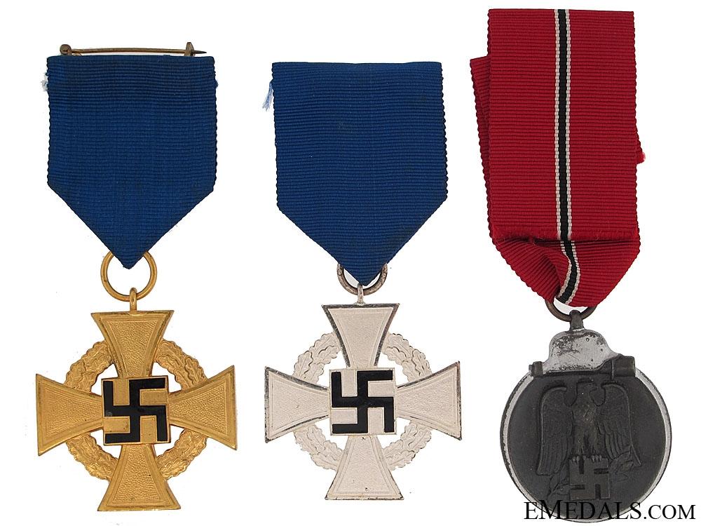 eMedals-Three German WWII Awards