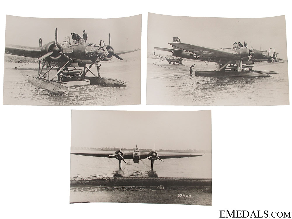 eMedals-Three He 115 Seaplane Photographs