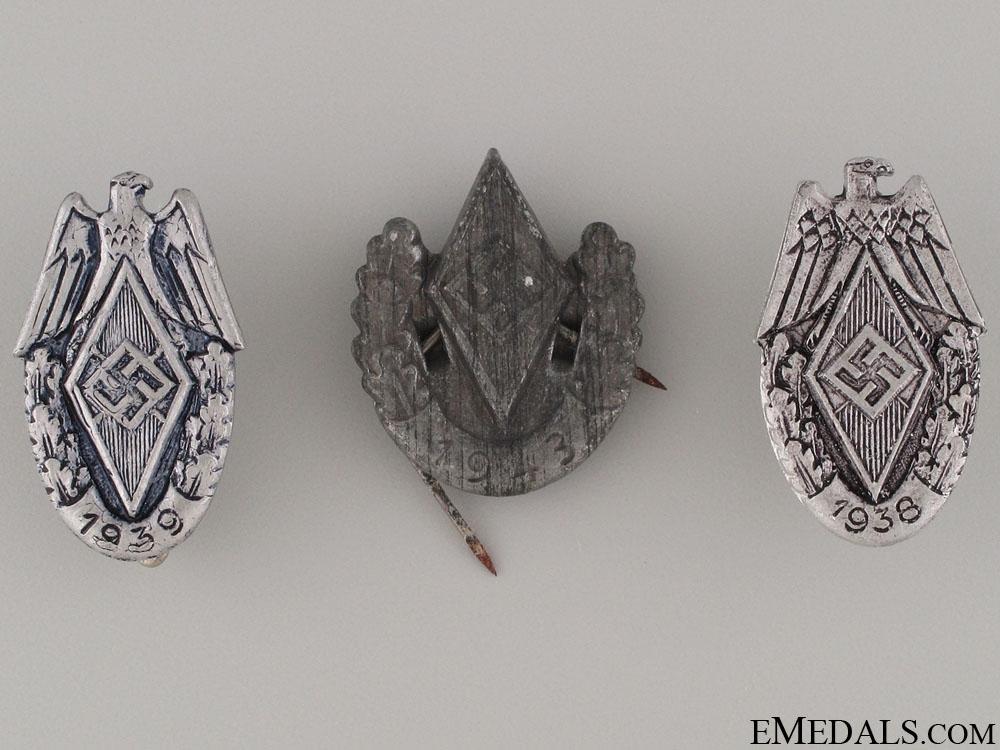 eMedals-Three HJ Pins