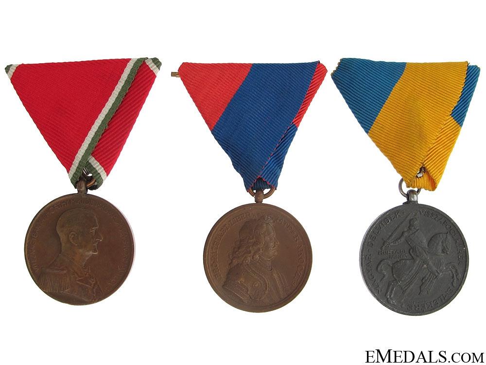 eMedals-Three Hungarian Medals