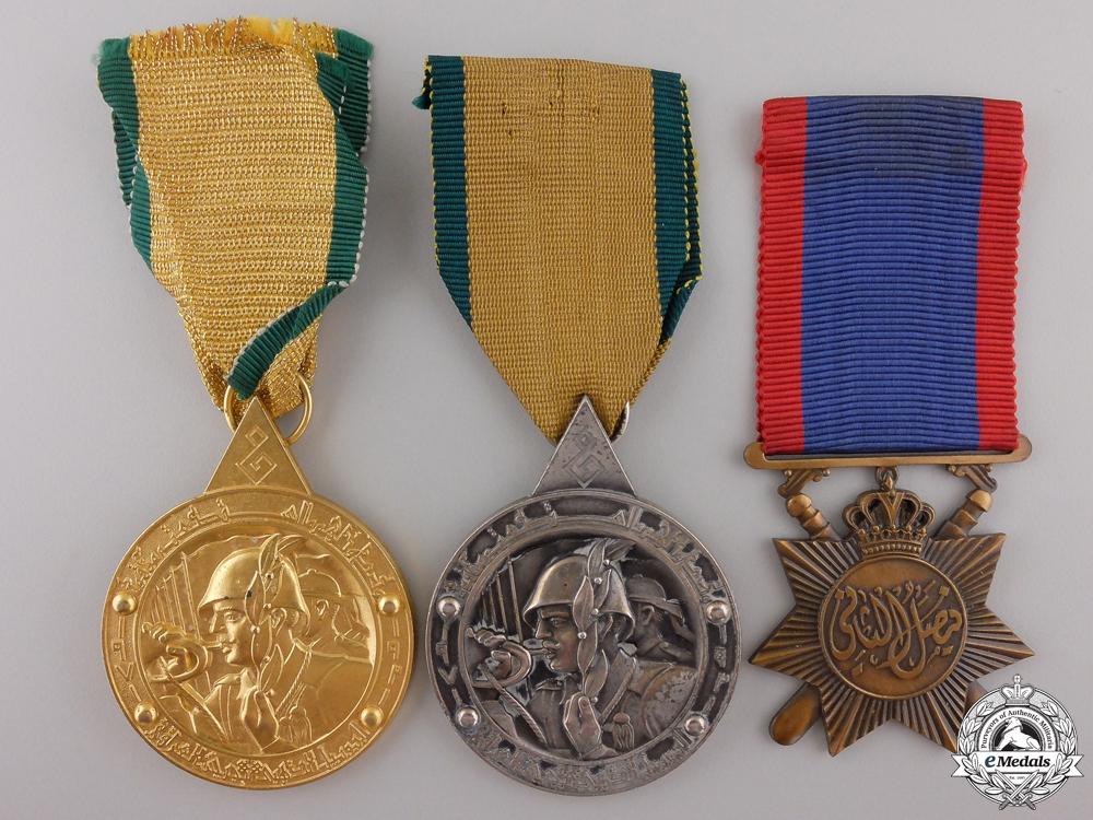 eMedals-Three Iraqi Medals & Awards