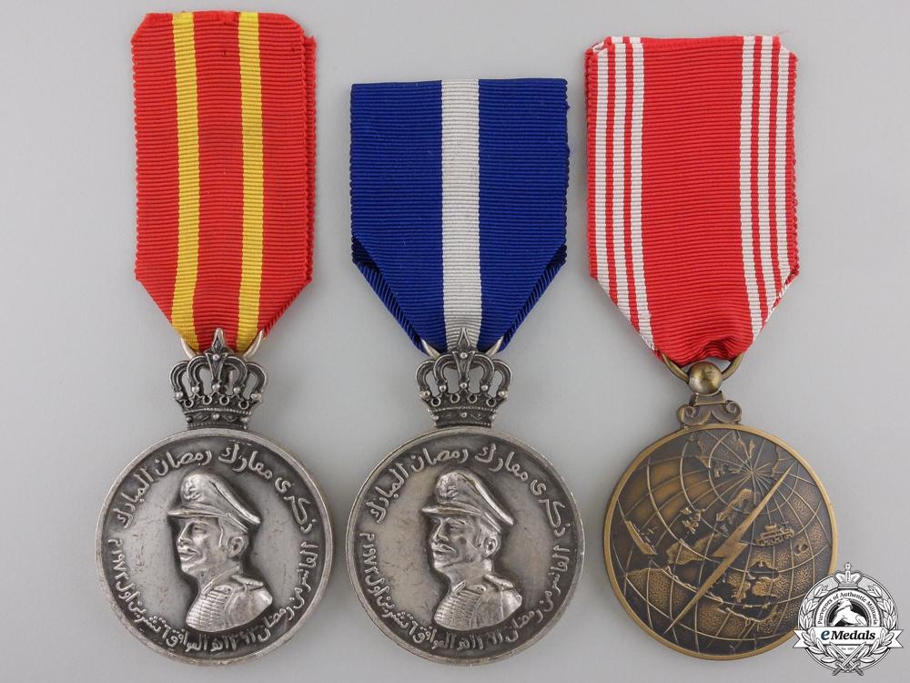 eMedals-Three Jordanian Medals and Awards