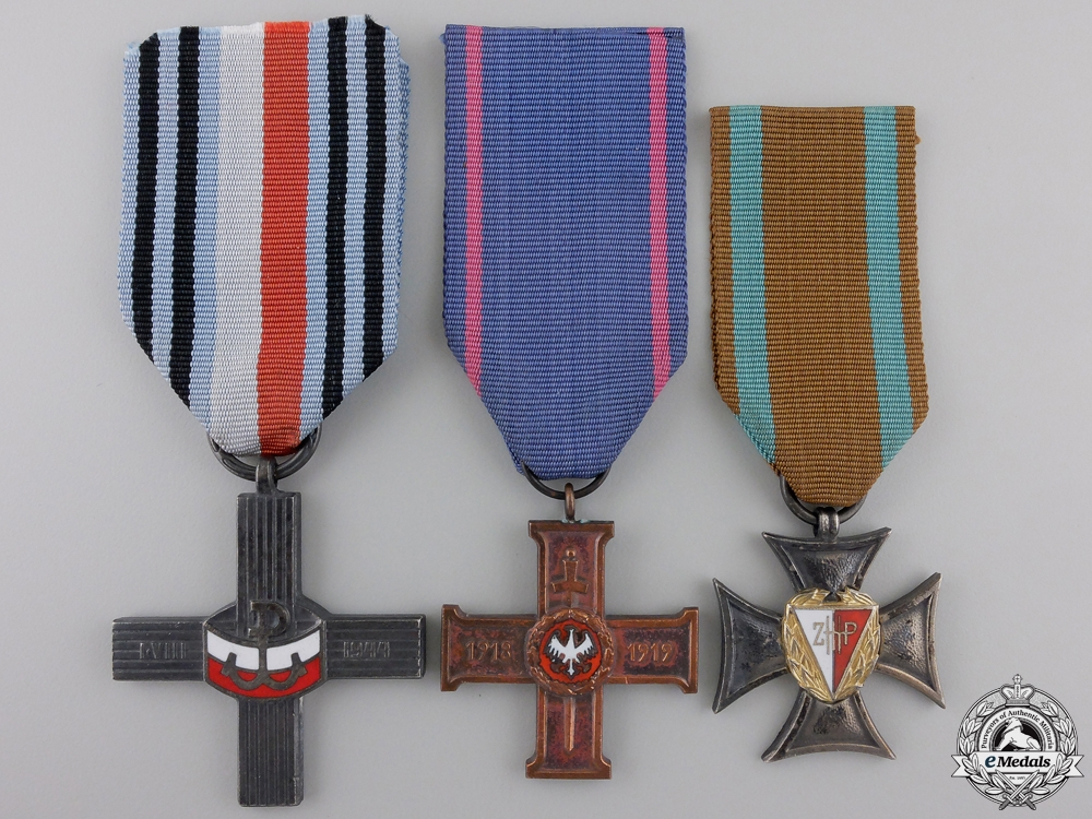 eMedals-Three Polish Medals and Awards