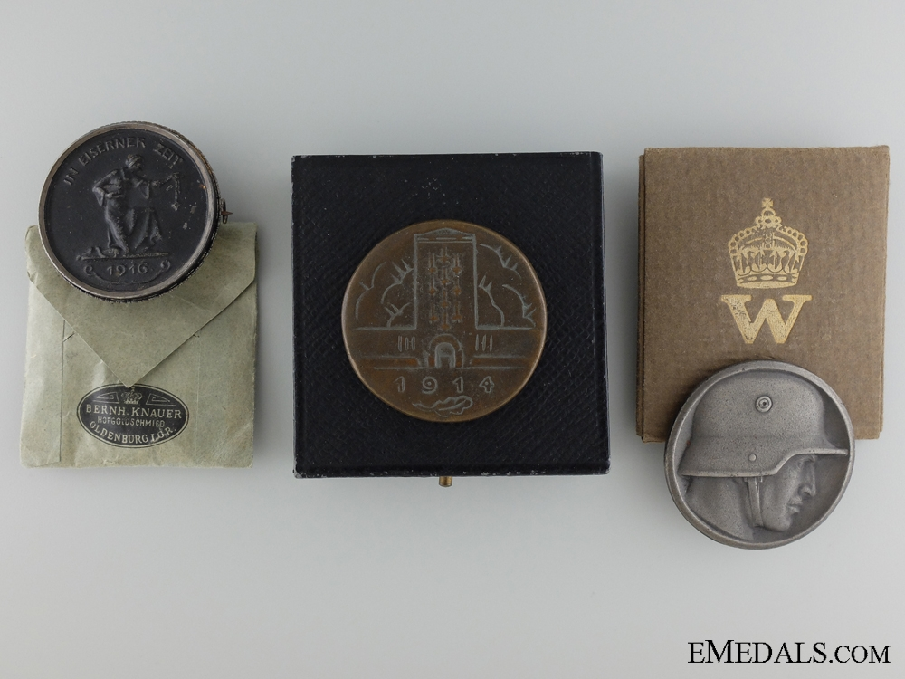 eMedals-Three Prussian WW1 Medals