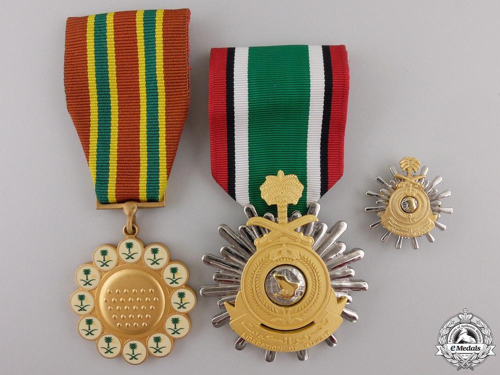eMedals-Three Saudi Arabian Medals and Awards