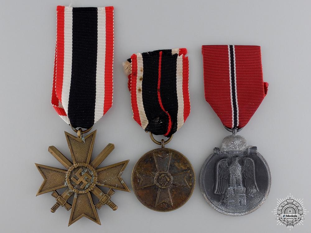 eMedals-Three Second War German Awards