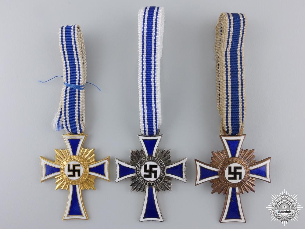 eMedals-Three Second War German Mother's Crosses