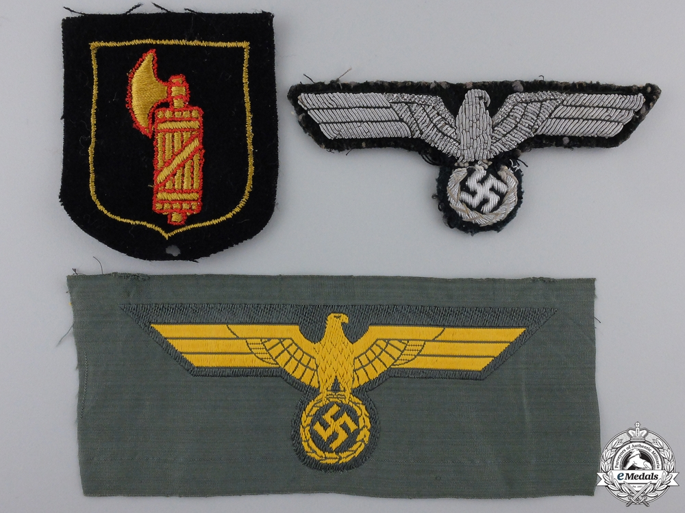 eMedals-Three Second War German Insignia