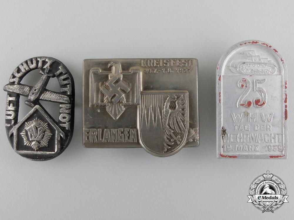 eMedals-Three Second War Period German Tinnies