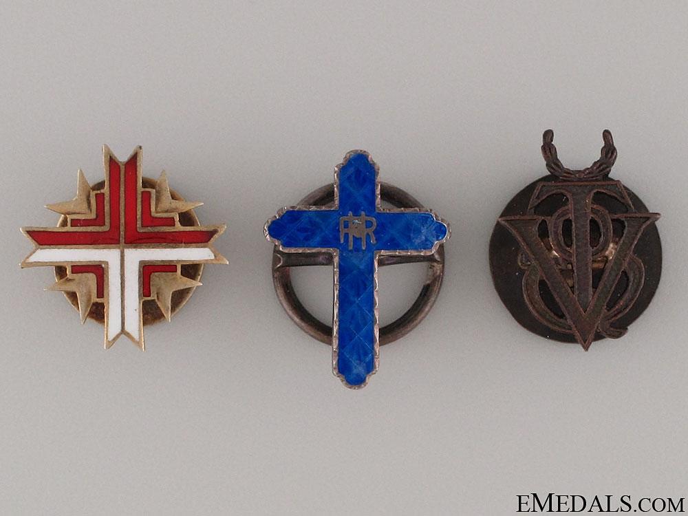 eMedals-Three Spanish Miniature Orders