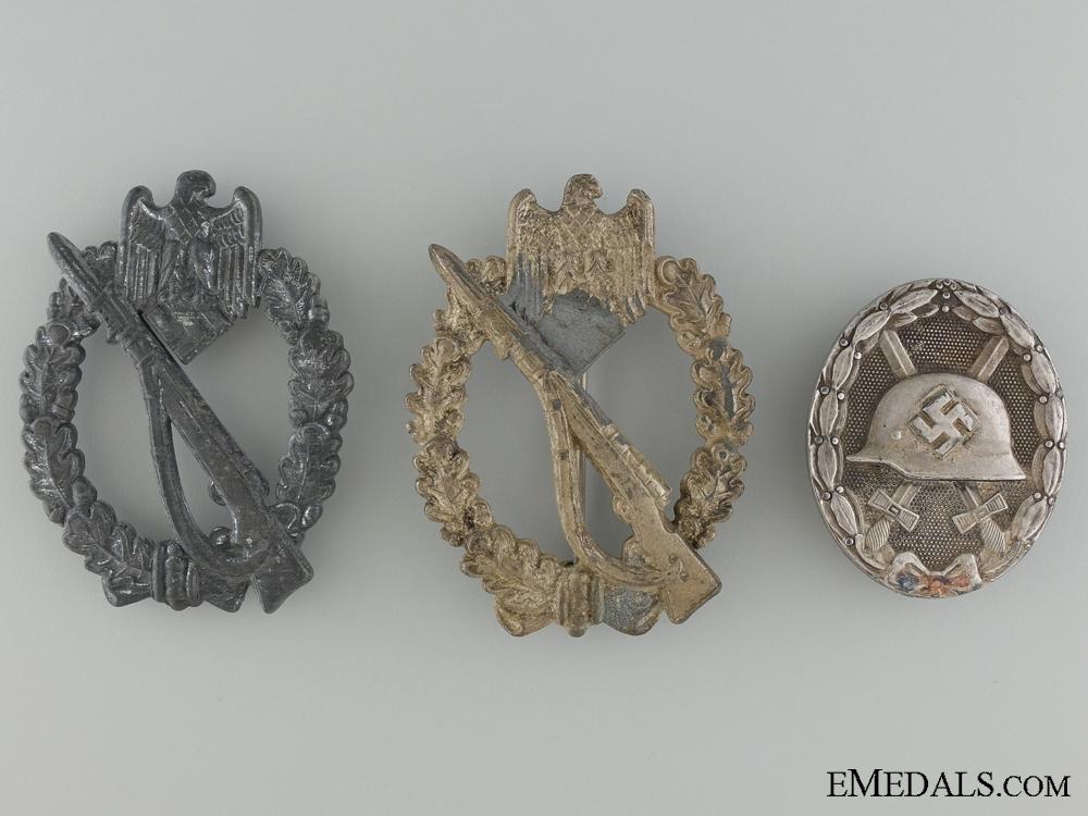 eMedals-Three Third Reich German Badges