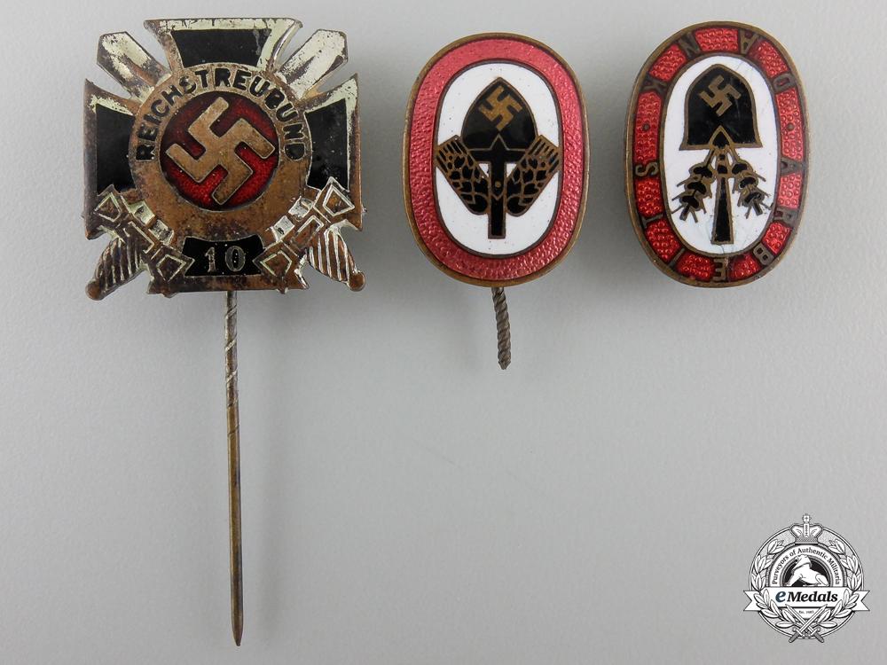 eMedals-Three Third Reich Badges