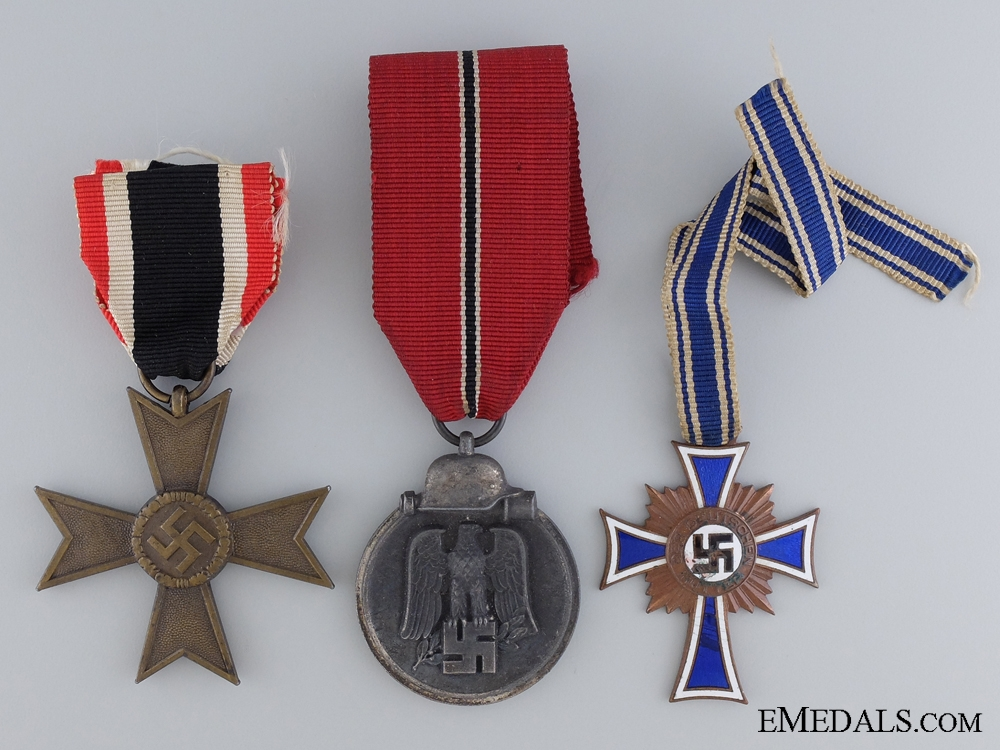 eMedals-Three WWII German Awards