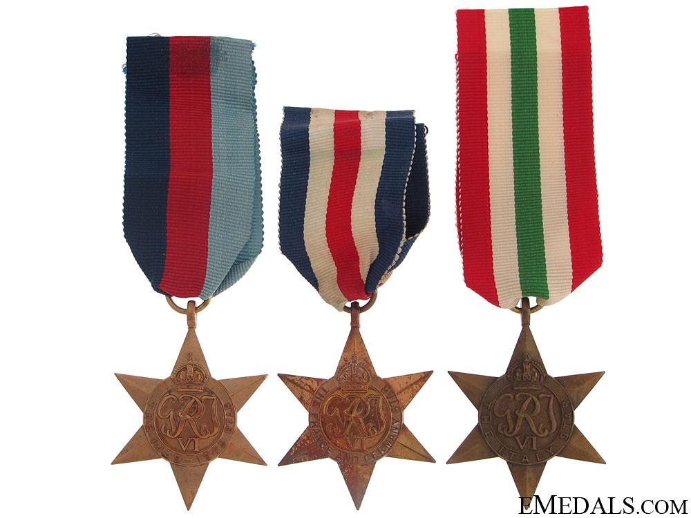 eMedals-Three WWII Stars
