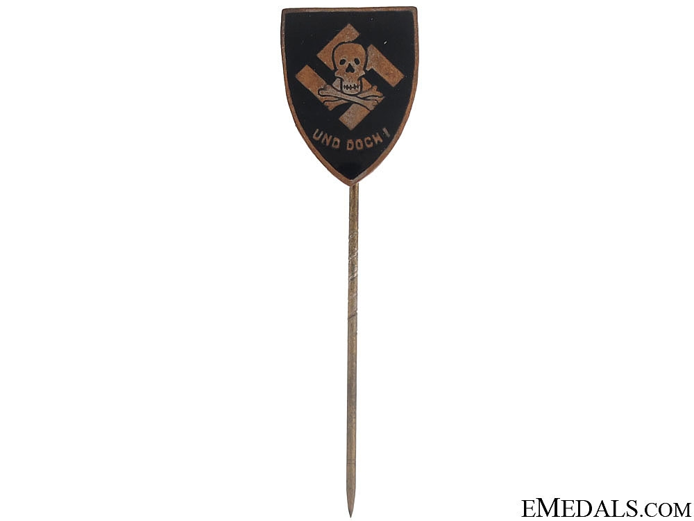 eMedals-Totenkopf Pin