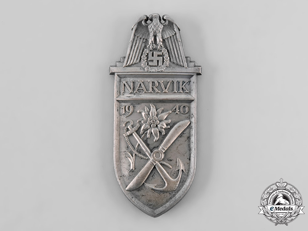 eMedals-Germany, Wehrmacht. A Narvik Campaign Shield