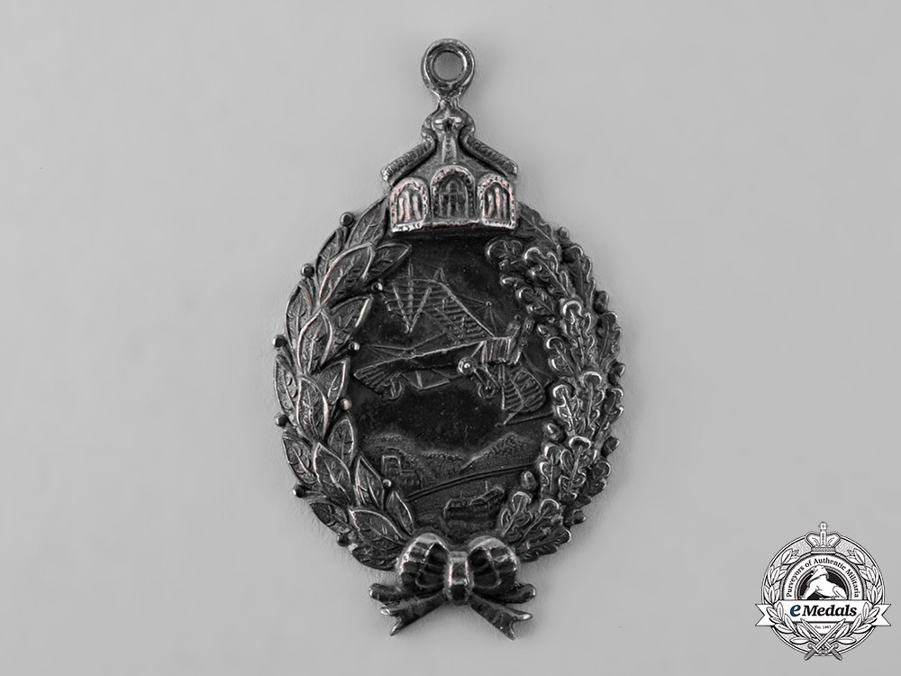eMedals-Germany, Imperial. A Pilot's Badge in Silver, Prinzen Size