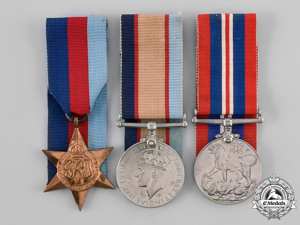 eMedals-Australia, Commonwealth. A Medal Group, Private C.A.J. Edwards, 2/3 Australia Malaria Unit, Australian Imperial Forces