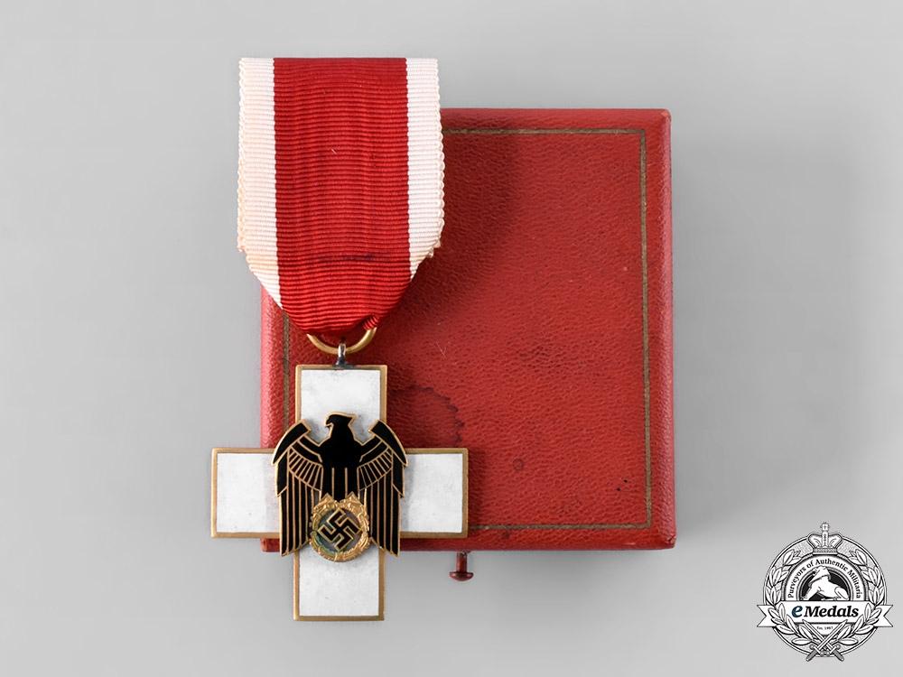eMedals-Germany, Third Reich. A Social Welfare Decoration, III Class, by Gebrüder Godet & Co.