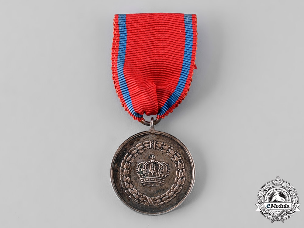 eMedals-Wurttemberg, Kingdom. A 9-Year Long Service Medal, c.1915