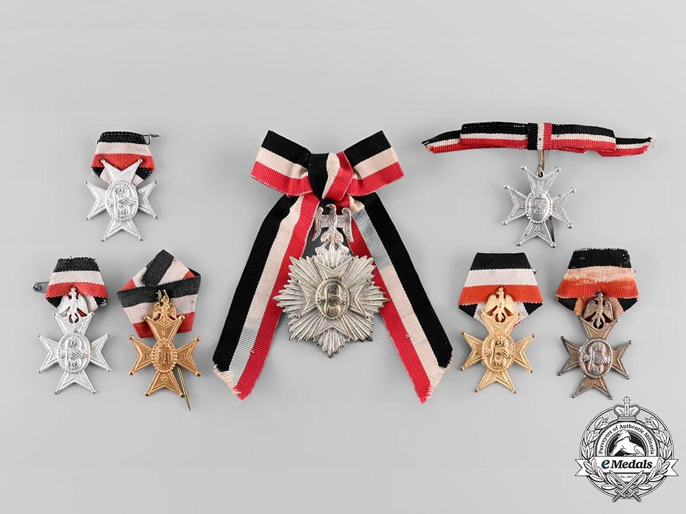 eMedals-Germany, Imperial. A Lot of Deutsche Krieger-Fechtanstalt (DKFA) Medals