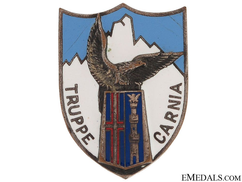 eMedals-Truppe Carnia Badge