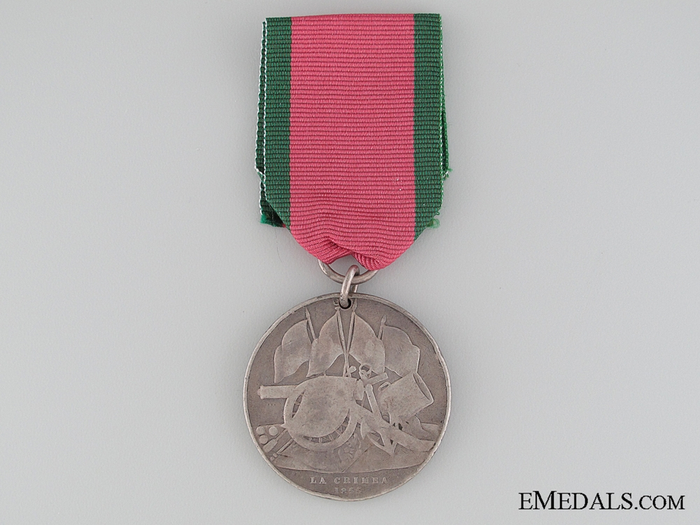 eMedals-Turkish Crimea Medal 1855; Sardinian issue