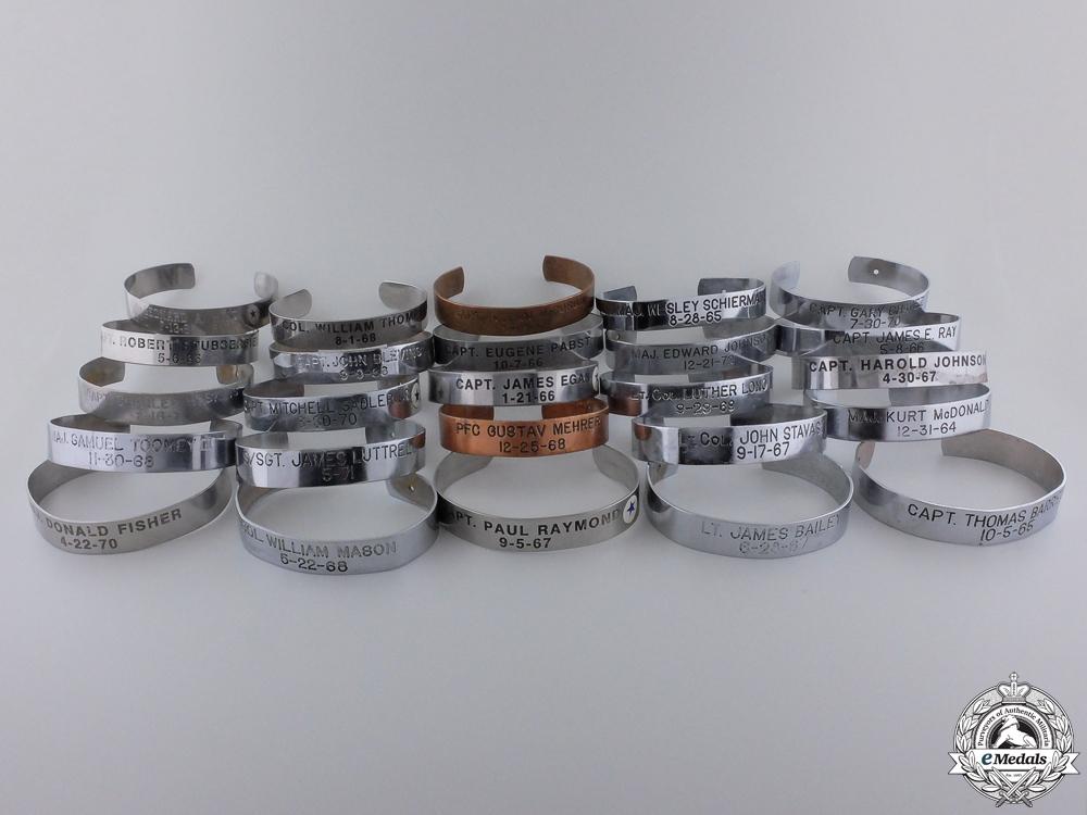 eMedals-Twenty-Nine Vietnam War POW/MIA Bracelets