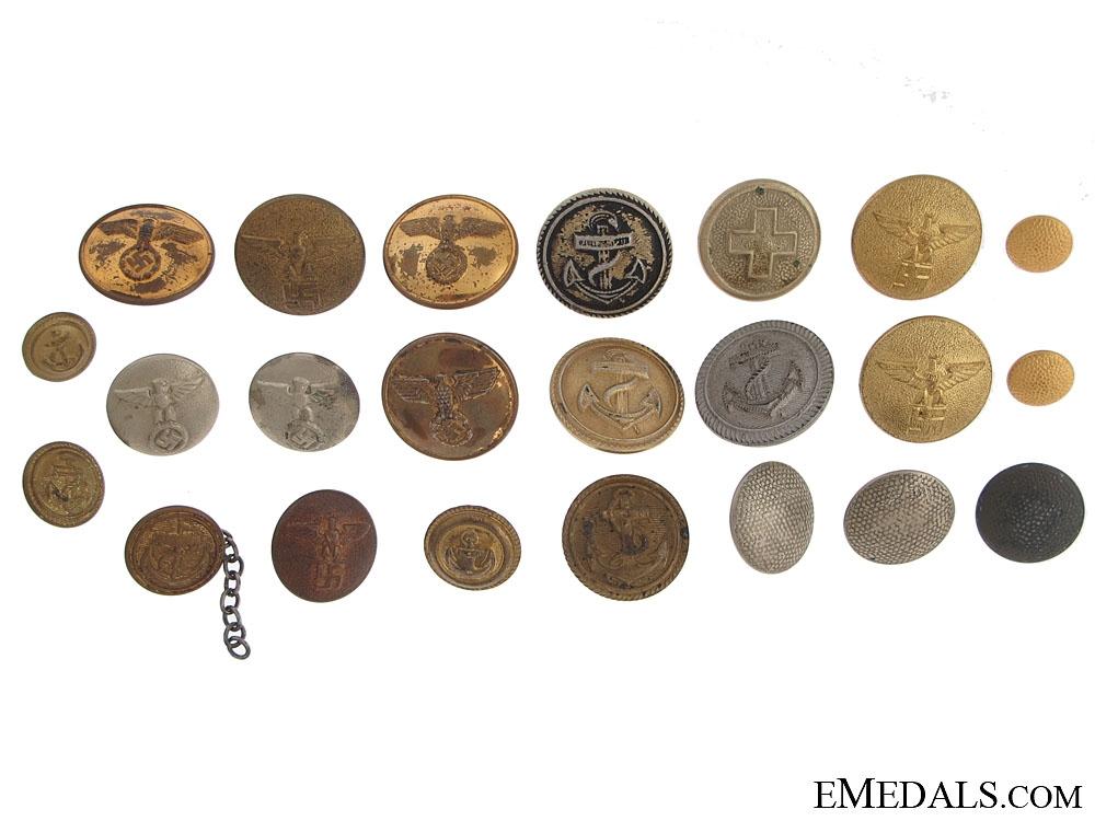 eMedals-Twenty-Three German Buttons