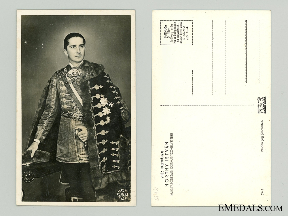 eMedals-Two 1930's Hungarian Postcards