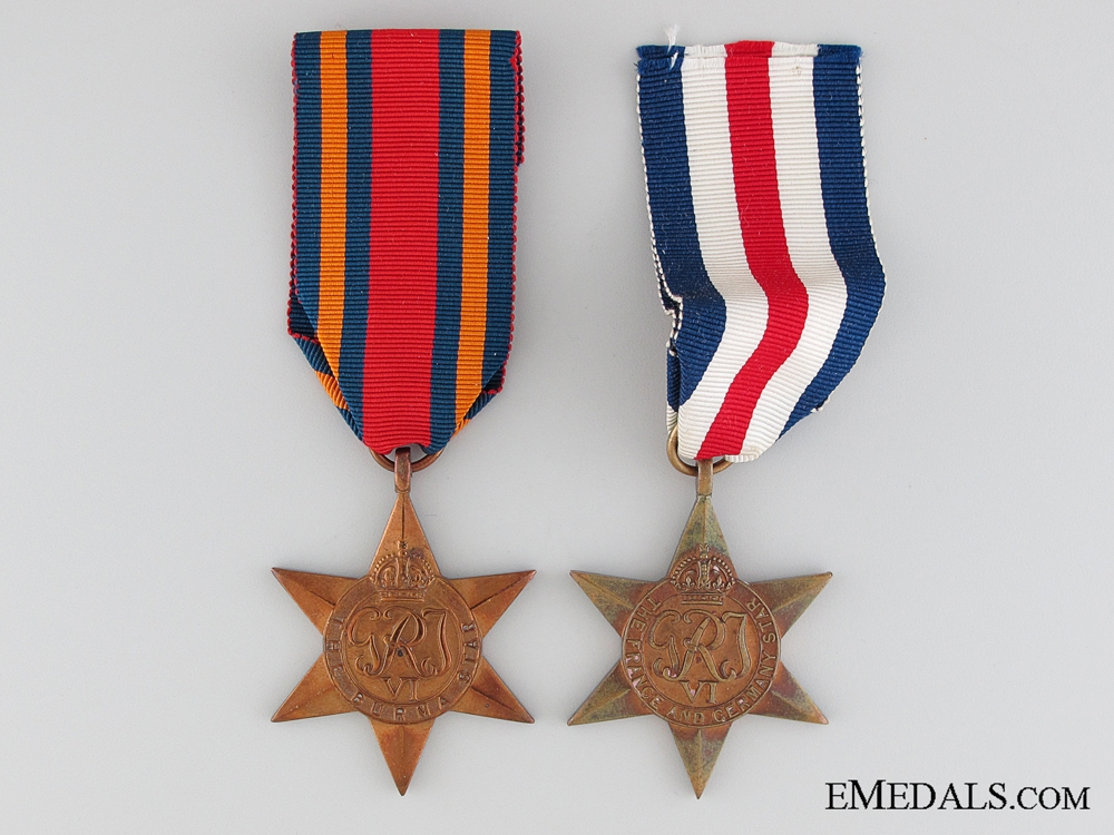 eMedals-Two British Second War Stars