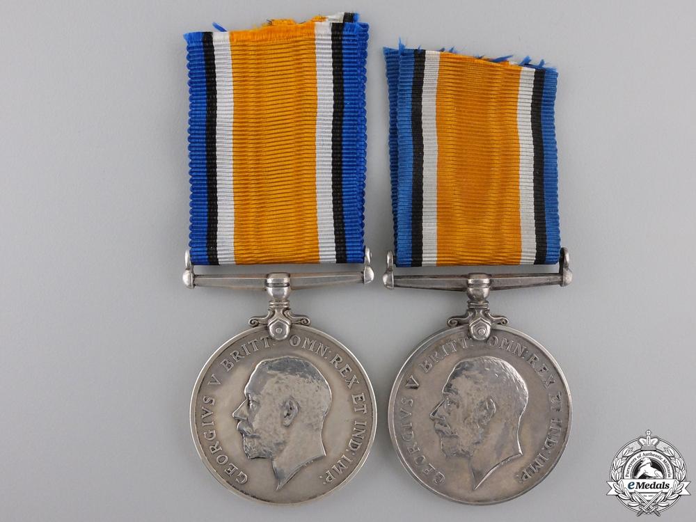 eMedals-Two Canadian First War War Medals