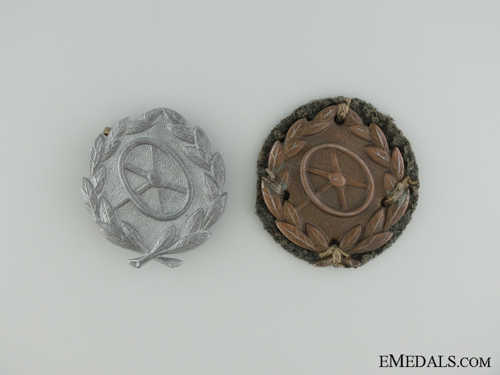 """eMedals-Two Driver""""¢¯s Proficiency Badges"""