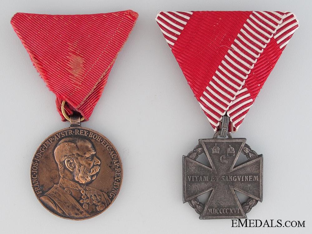 eMedals-Two First War Austrian Medals