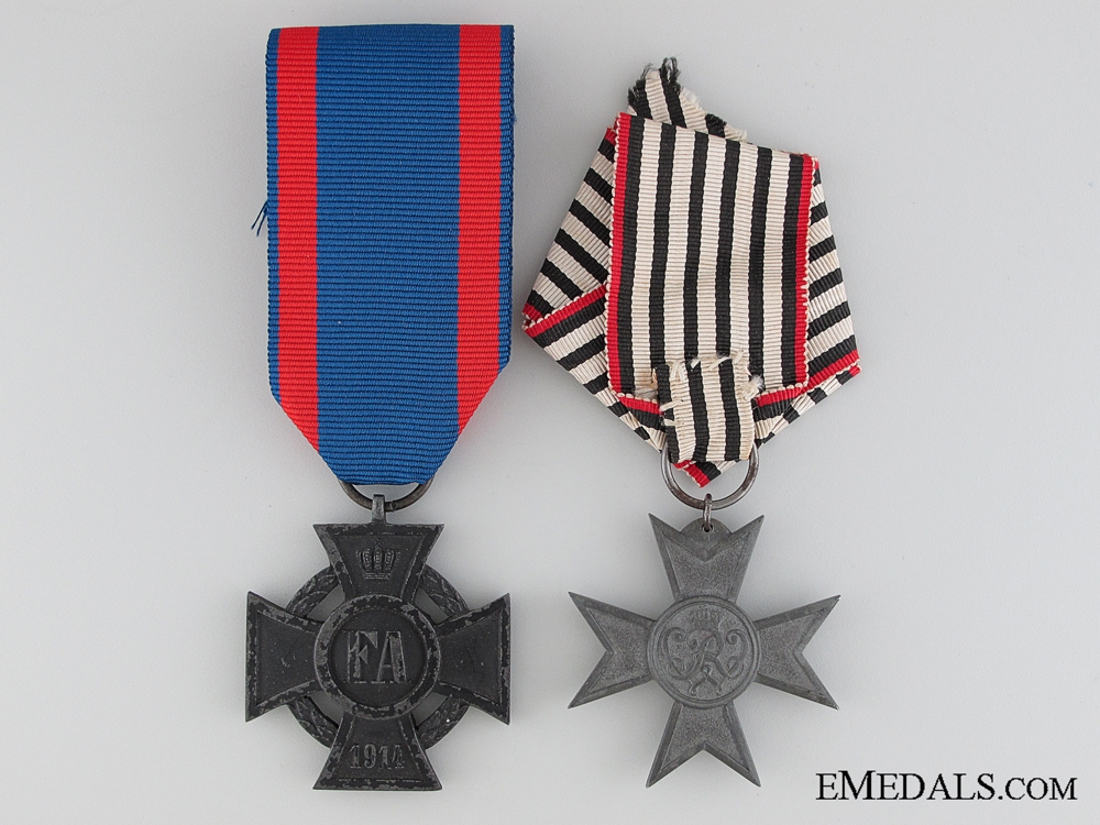 eMedals-Two First War German Awards