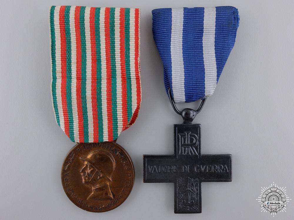 eMedals-Two First War Italian War Medals