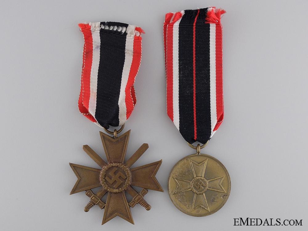 eMedals-Two German War Merit Awards