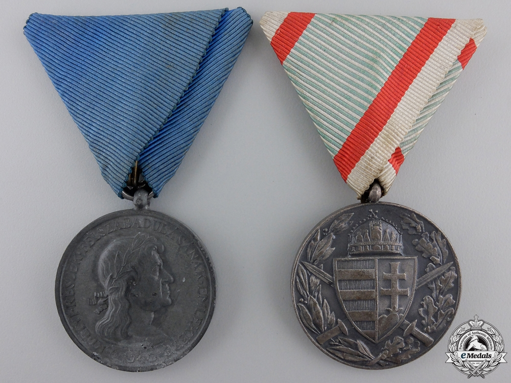 eMedals-Two Hungarian Campaign Medals