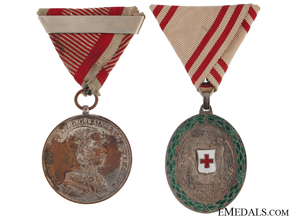 eMedals-Two Imperial Austrian Awards