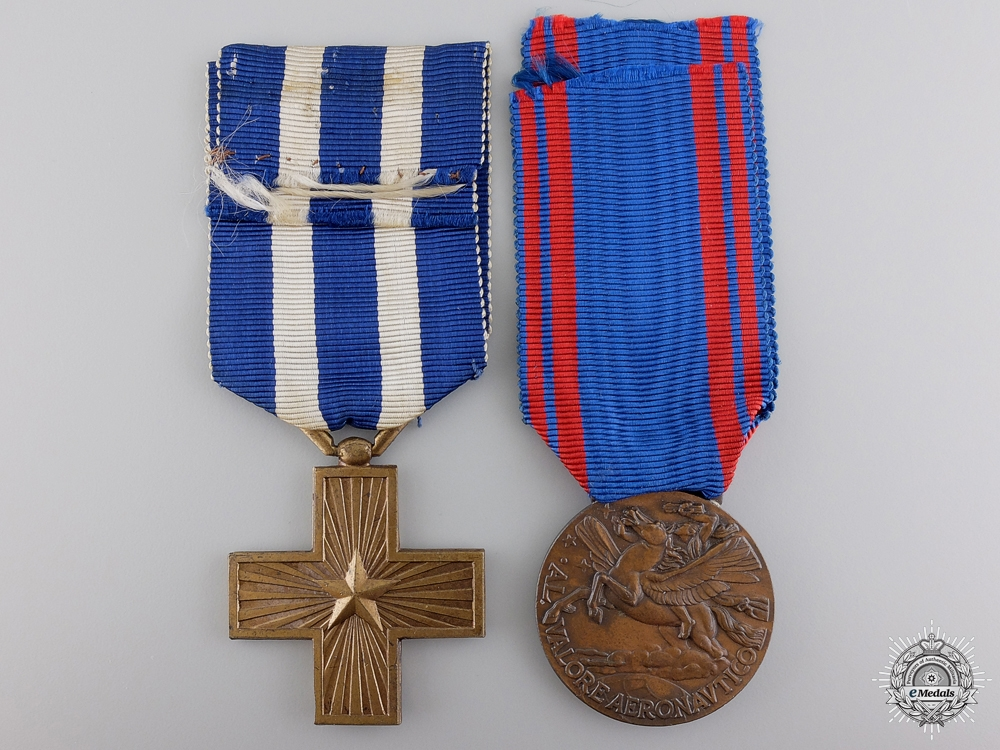 eMedals-Two Italian Merit & Campaign Medals