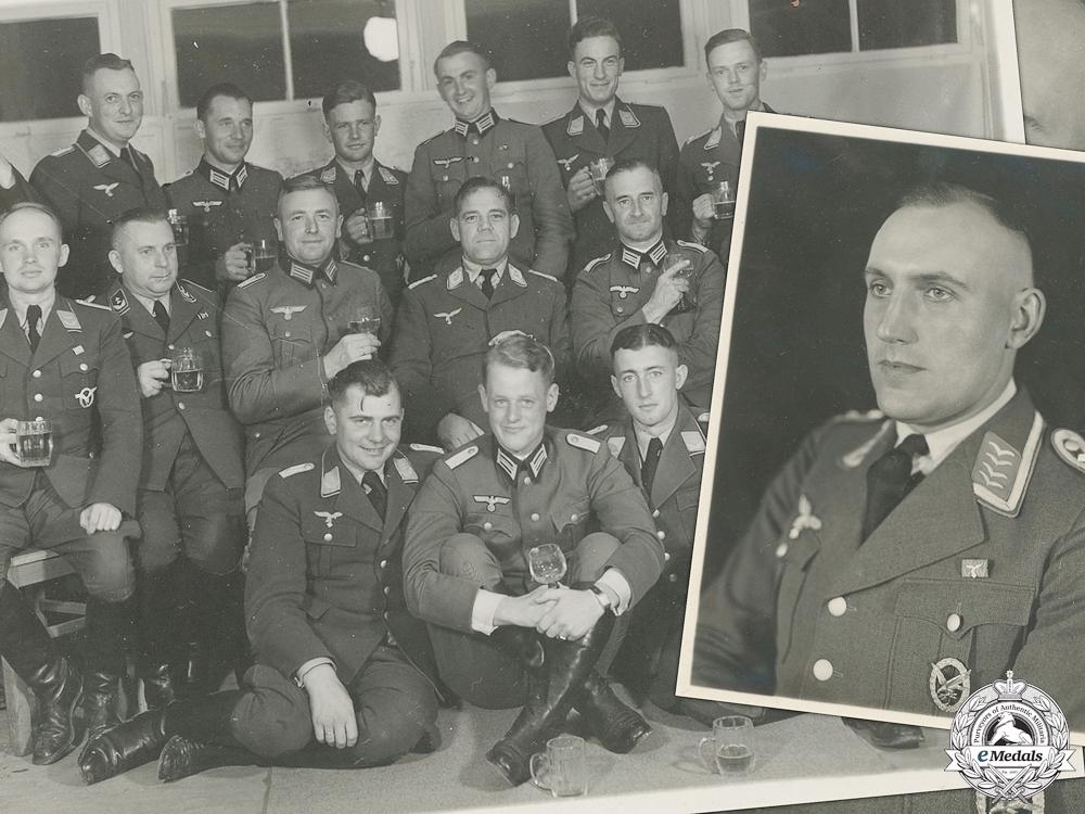 eMedals-Two Original War Time Luftwaffe Related Photos