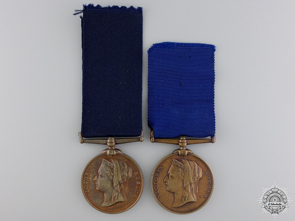 eMedals-Two Queen Victoria Diamond Jubilee Medals
