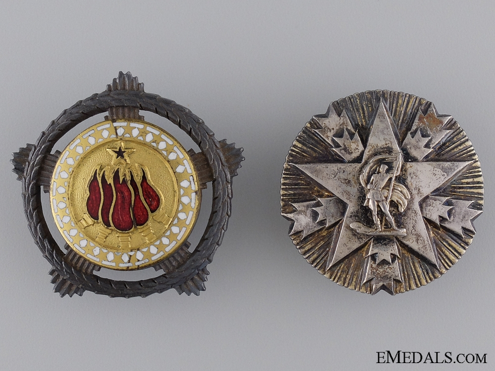 eMedals-Two Republic of Yugoslavia Orders in Silver