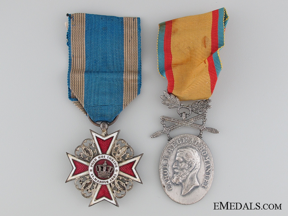 eMedals-Two First War Period Romanian Awards