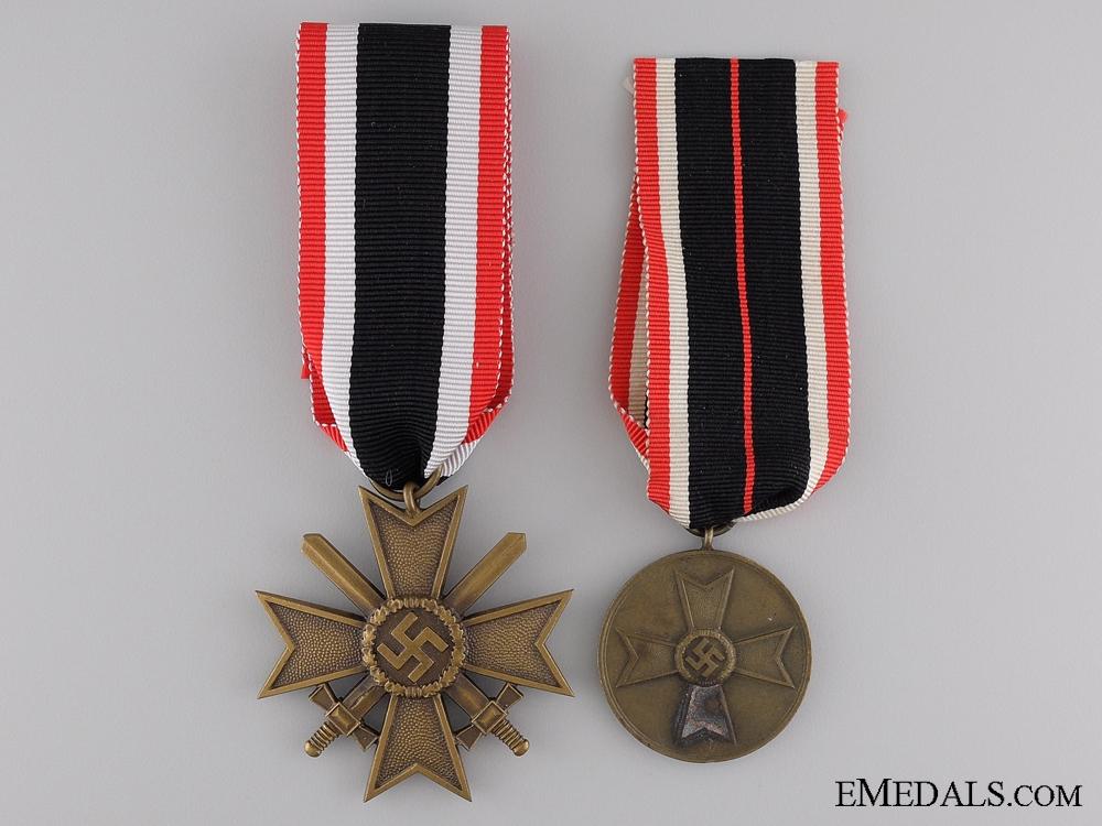 eMedals-Two Second War German Merit Awards