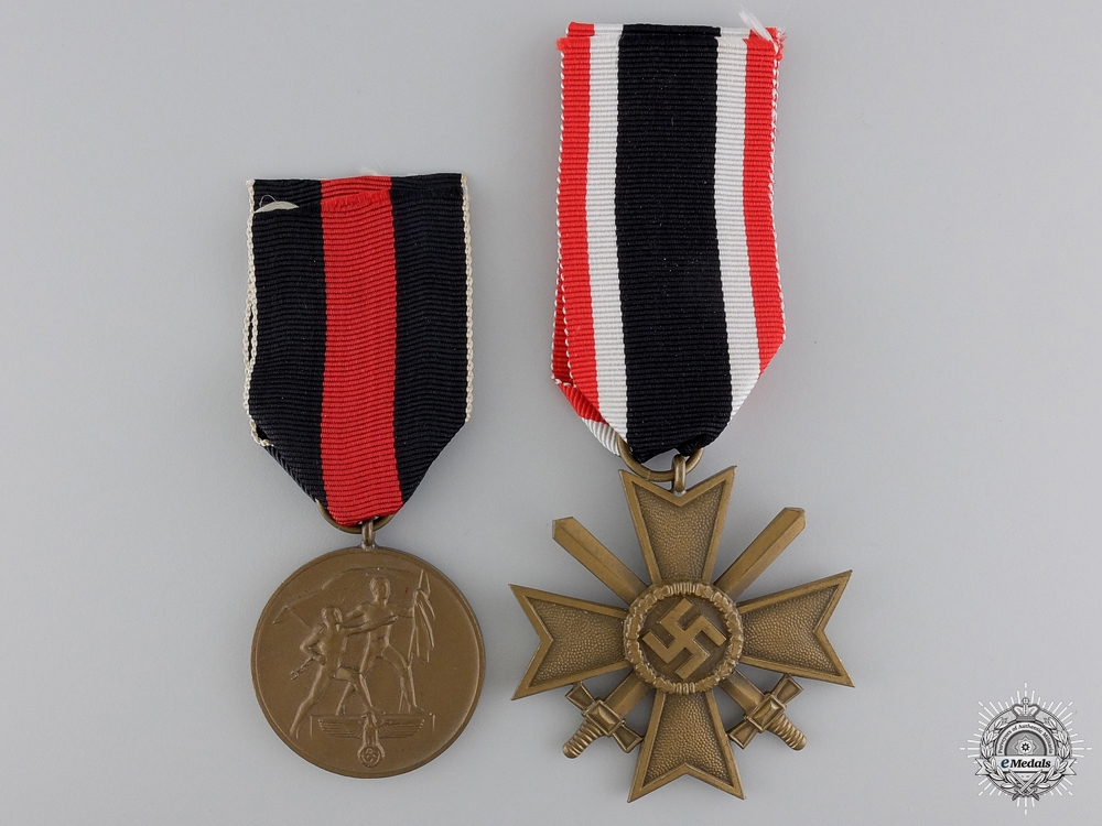 eMedals-Two Second War German Awards