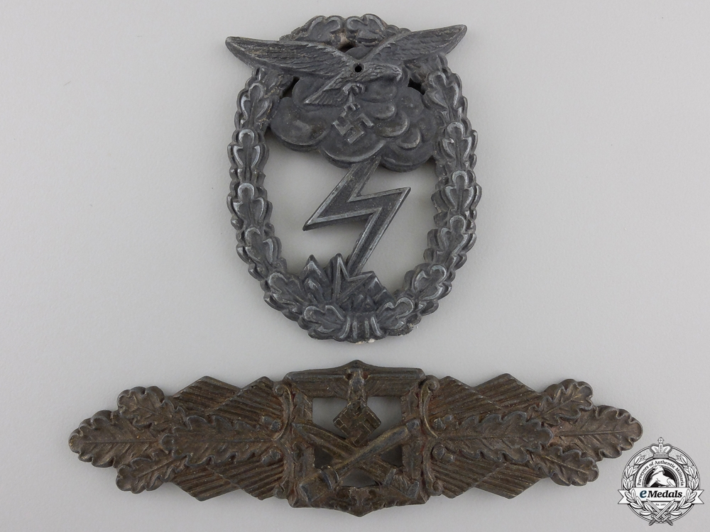 eMedals-Two Second War German Badge