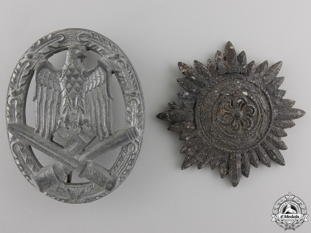 eMedals-Two Second War German badge and Awards