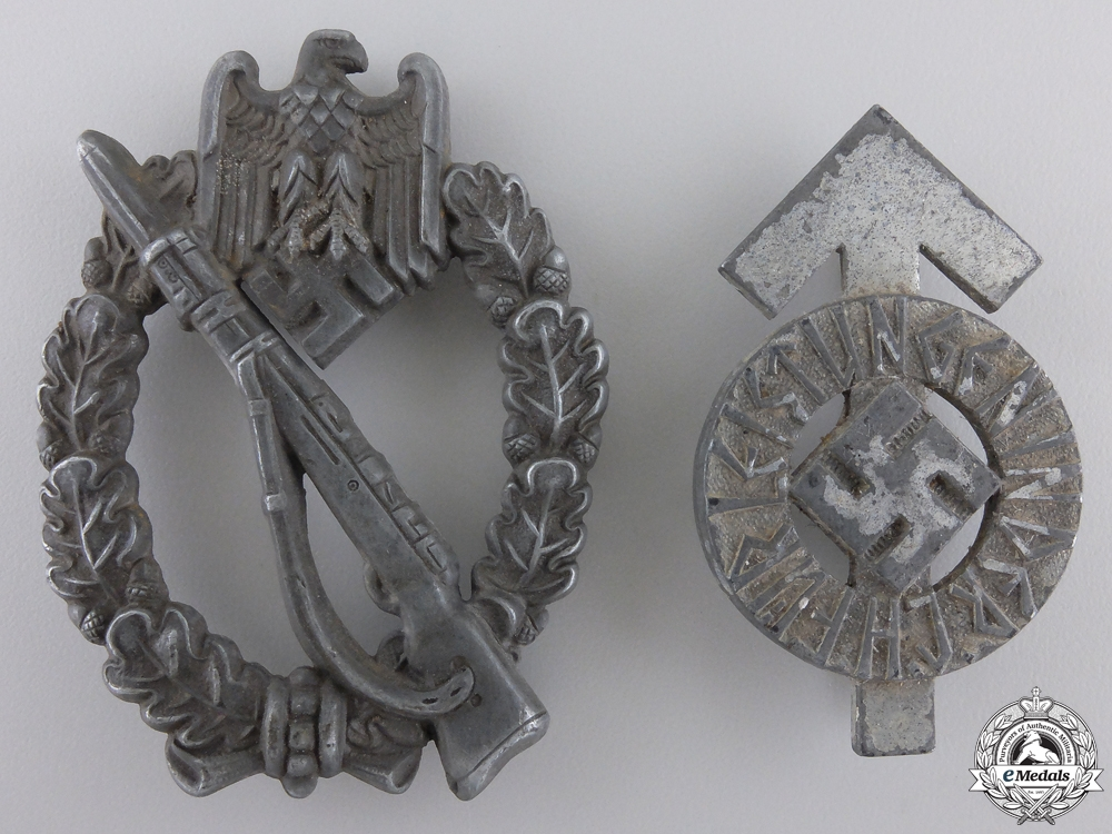 eMedals-Two Second War German Badges