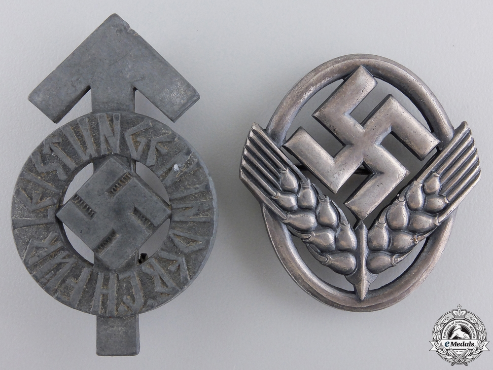 eMedals-Two Second War German Badges & Insignia